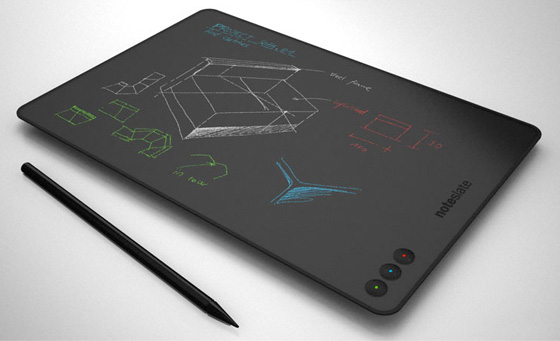 Notepad And Stylus For Graphic Designing