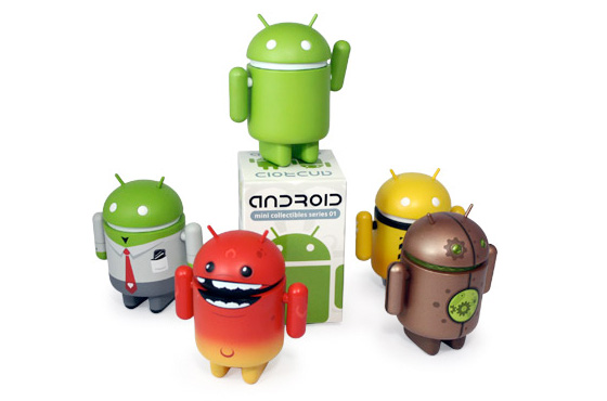 Android toy art