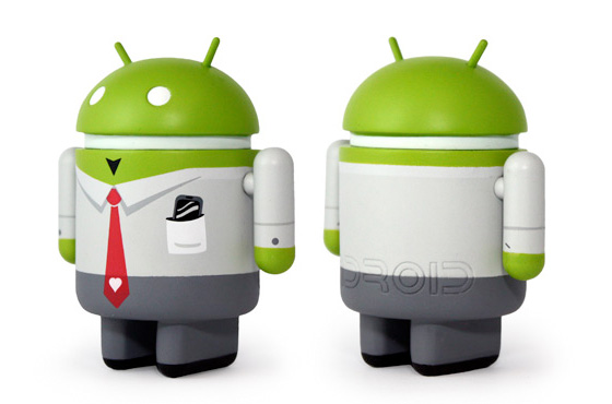 toy art android worker