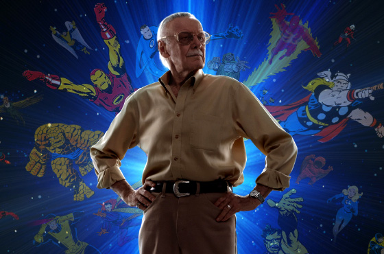 stanlee with great power