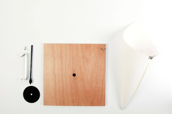 gramofone minimalista