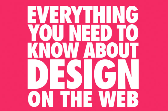 everything you need to know about design on web