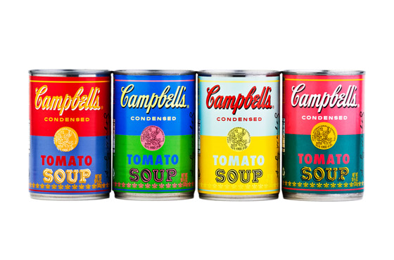 campbells - andy warhol cans 50th