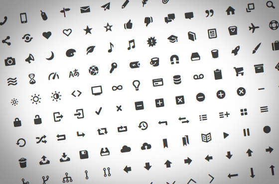 entypo - icons free and open type