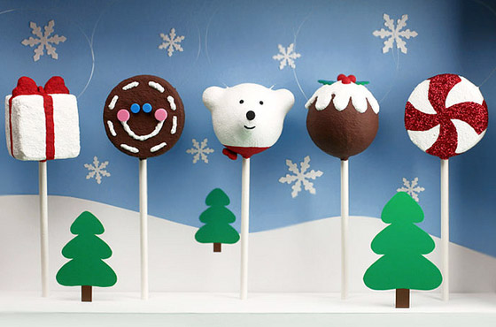xmas food cakepops
