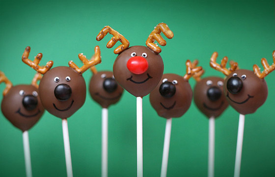 xmas food cakepop