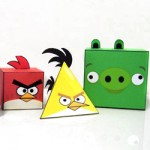 Paper Toy Angry Birds: download dos personagens + cenário