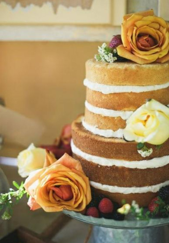 Unfrosted Wedding Cake Recipe