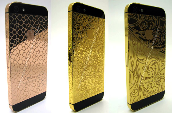 gold iphone - computer choppers