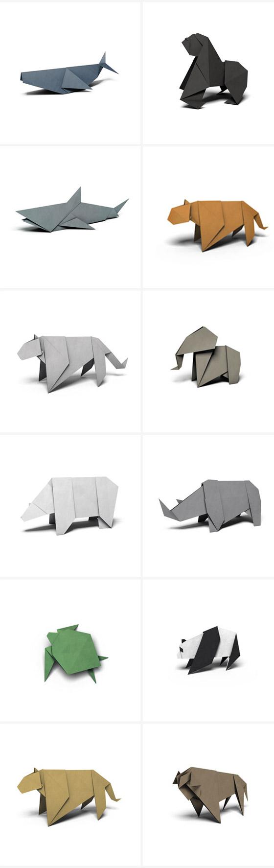 wwf app origamis