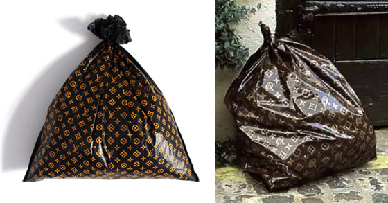 Trash bag Louis Vuitton