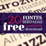 Free download: 20 fontes serifadas