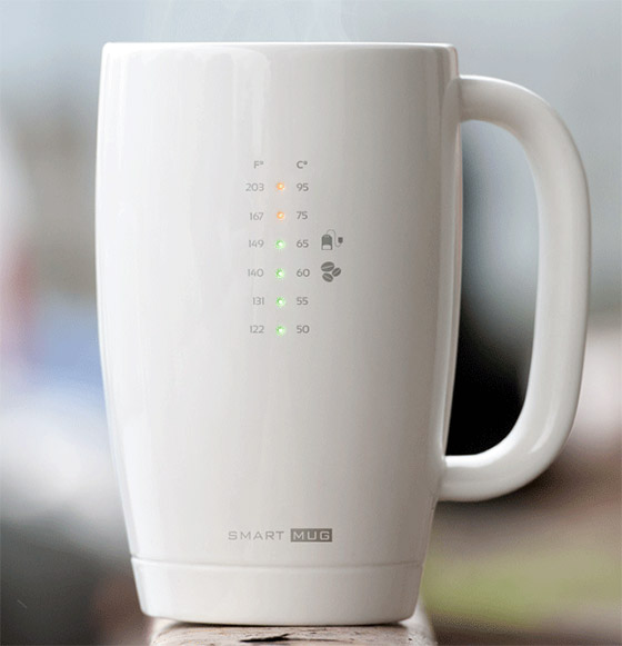 Smart mug - a caneca que informa a temperatura ideal