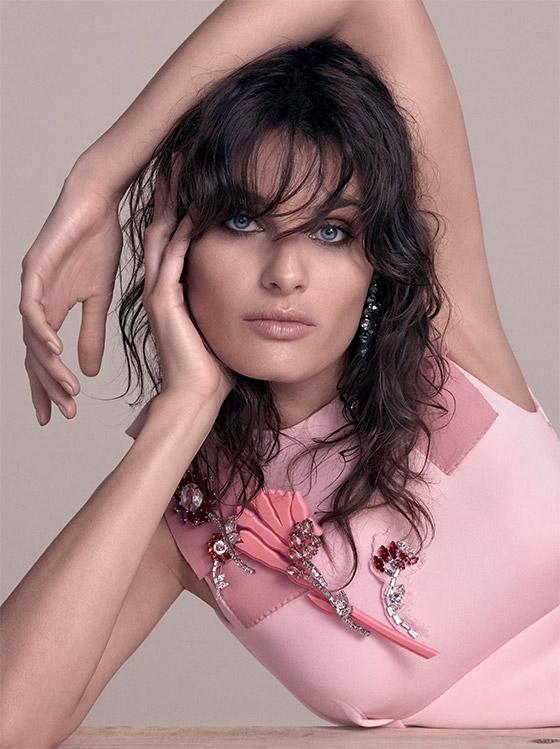 Isabeli Fontana por Vogue.