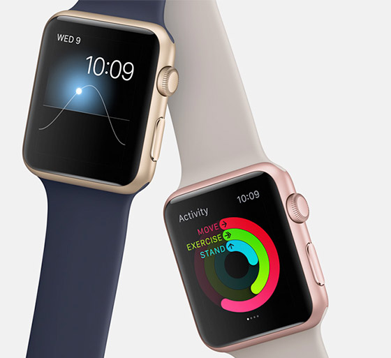 San Francisco nas telas do Apple Watch.
