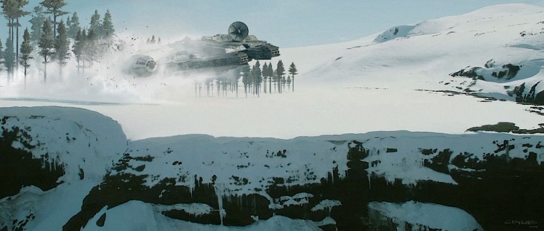 Star-Wars-Falcon-crashes-in-snow