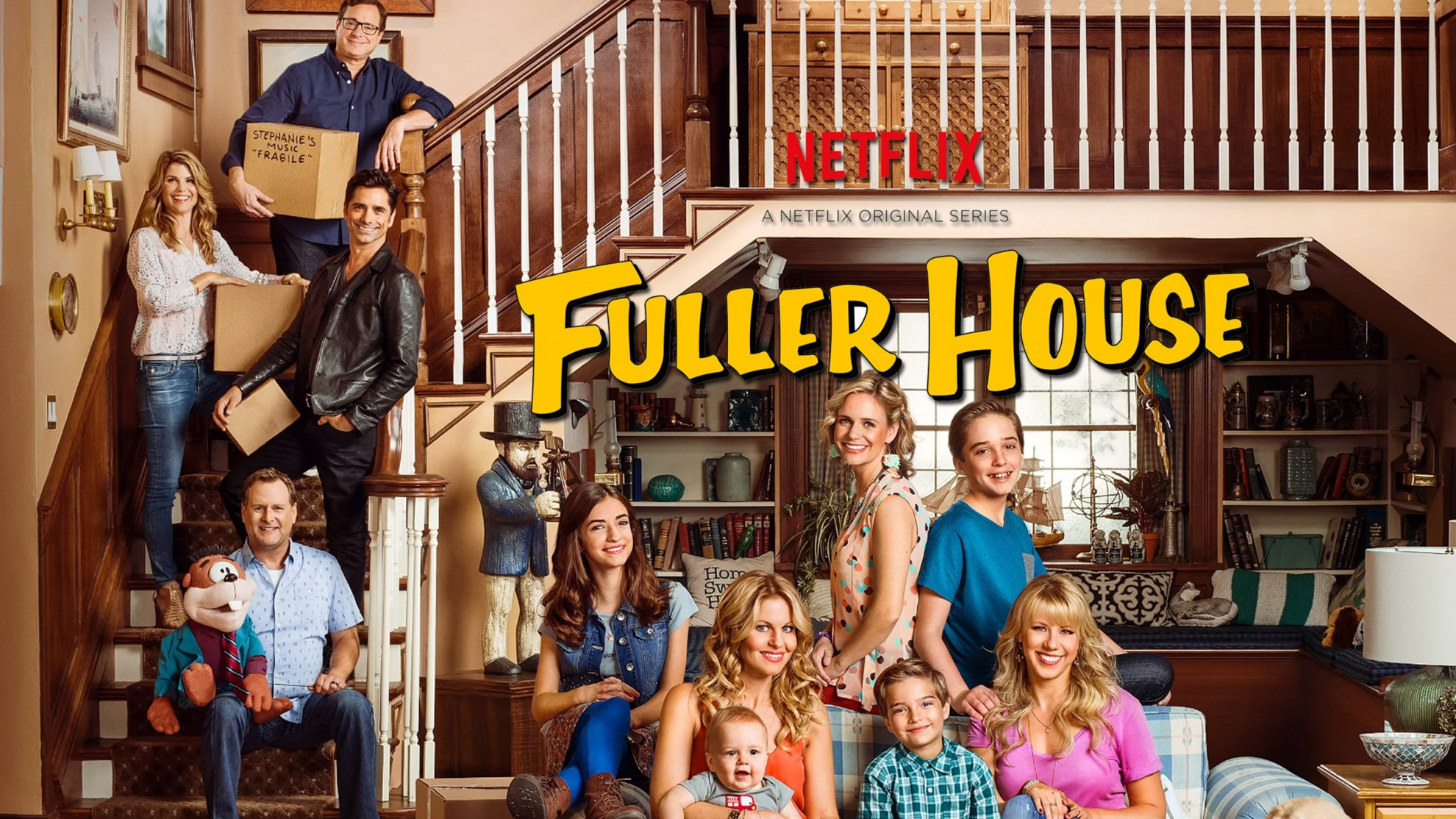 The house is full again. Fuller house is coming to Netflix February 26.