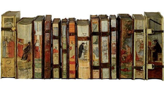 Fore-edge paitings por Vecellio.