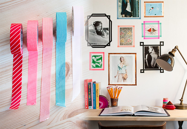 5-washi-tape-snapshot-frames-wall-art