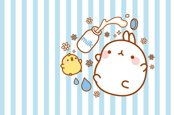 molang-cutedrop-milk