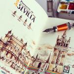 Os incríveis sketchbooks de um engenheiro que resolveu se dedicar somente à arte