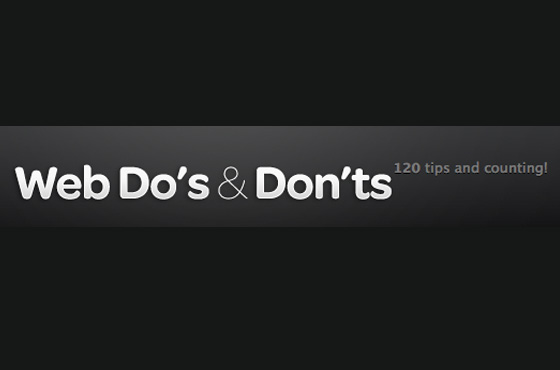 Do and donts