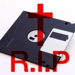 Homenagem ao disquete em (fim de) vida