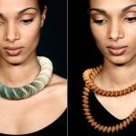 Nel Linsenn e suas bijoux de papel