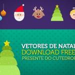 Presente do Cutedrop: vetores de Natal