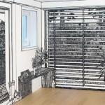 As paredes ilustradas de Charlote Mann
