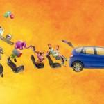 Honda Jazz, a animação e o aplicativo