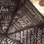 Guarda chuva tipográfico