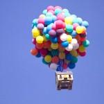 A casa voadora de UP, de verdade!
