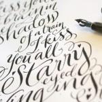 Um portfolio lindo de lettering por Kate Forrester