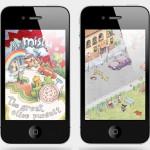 Sr. Mistu ilustra o seu iPhone