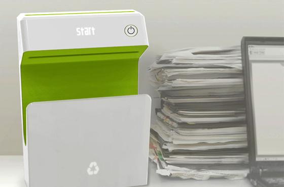 impressora que remove tinta