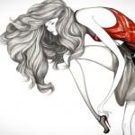 Ilustrando a moda