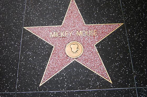 Mickey - calçada da fama
