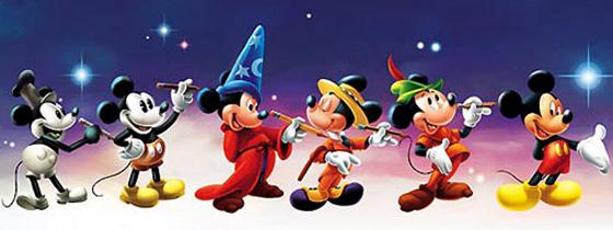 evolução do Mickey