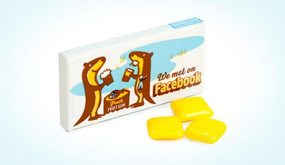 chiclete facebook