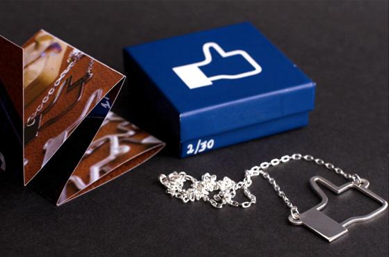 facebook pingente