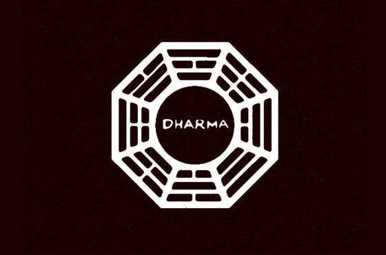 Fake logo Dharma -  Lost