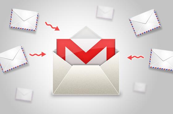 Importando contas para o Gmail