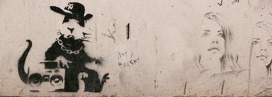 Stencil by Banksy
