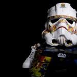 Capacete Stormtrooper + Adidas