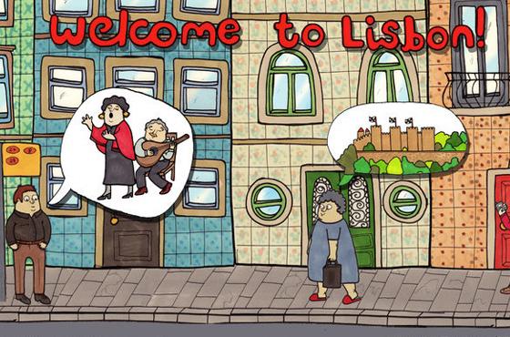 Draw and travel - Lisboa
