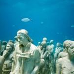 A população no fundo do oceano