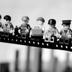 Fotos clássicas versão LEGO