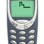 Jogando o clássico Snake no iPhone