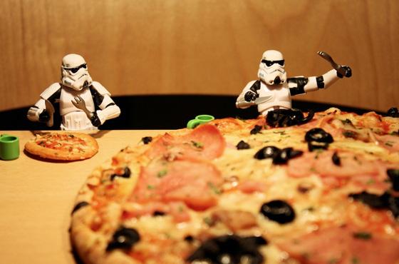 stormtrooper pizza